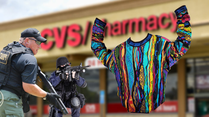 Cosby Sweater Taken Down In Police Sting Operation