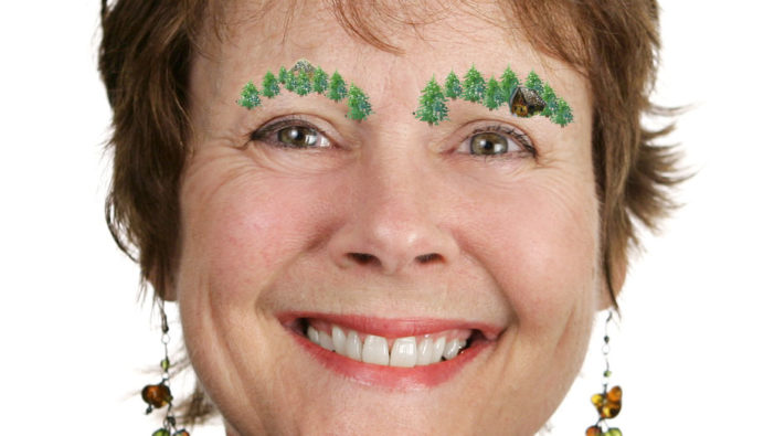 Mom Learns To Paint Eyebrows From Watching Bob Ross