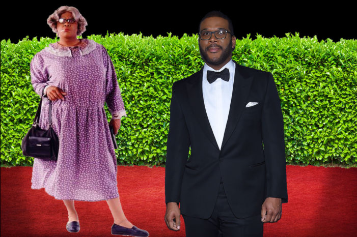 Madea And Tyler Perry Show Up At Same Event
