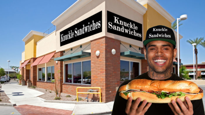 Chris Brown Opens New Restaurant: Knuckle Sandwiches