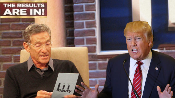 Maury Reveals Lie Detector Results Live At Debate