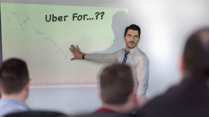 "Capital Investment Firm Is Lousy with ""It's The Uber For"" Pitch Meetings"