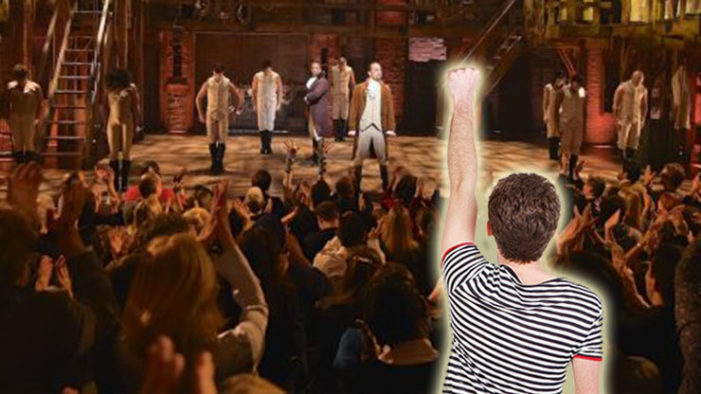 Gay Man Grows Stronger As He Absorbs Yet Another Hamilton Set