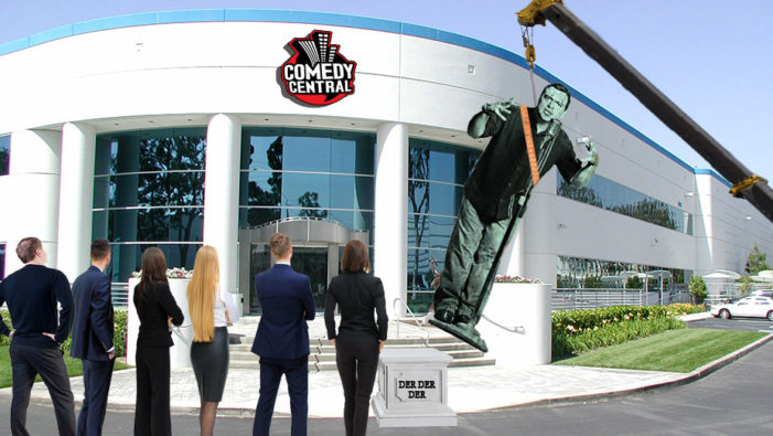 Carlos Mencia Statue Removed From Comedy Central Headquarters